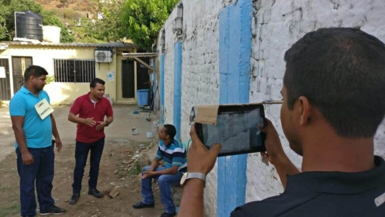 a technology project around participatory video in colombia